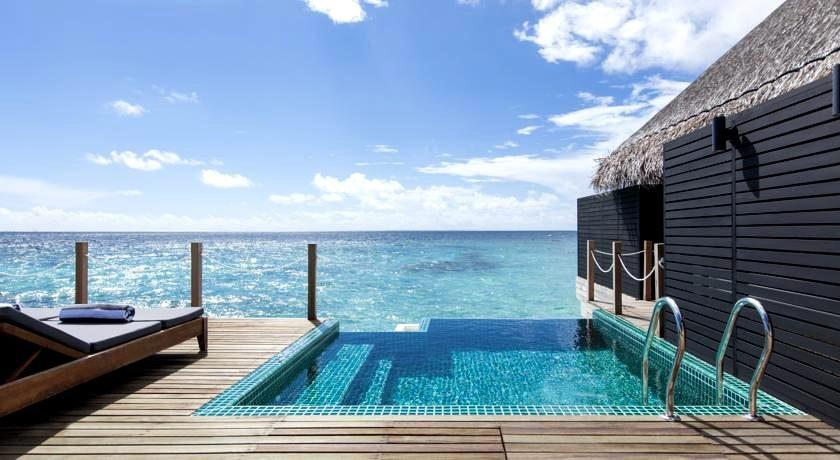 奥瑞格卡纳塔 Outrigger Konotta ,马尔代夫风景图片集:沙滩beach与海水water太美,泳池pool与水上活动watersport好玩
