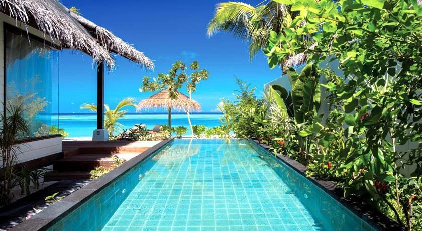 奥臻岛 OZEN by Atmosphere ,马尔代夫风景图片集:沙滩beach与海水water太美,泳池pool与水上活动watersport好玩