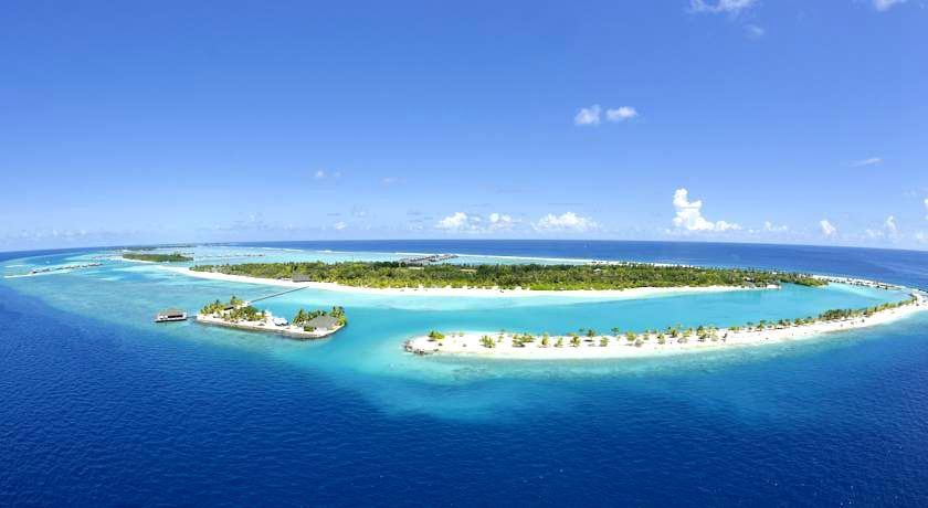 天堂岛 Paradise island 鸟瞰地图birdview map清晰版 马尔代夫