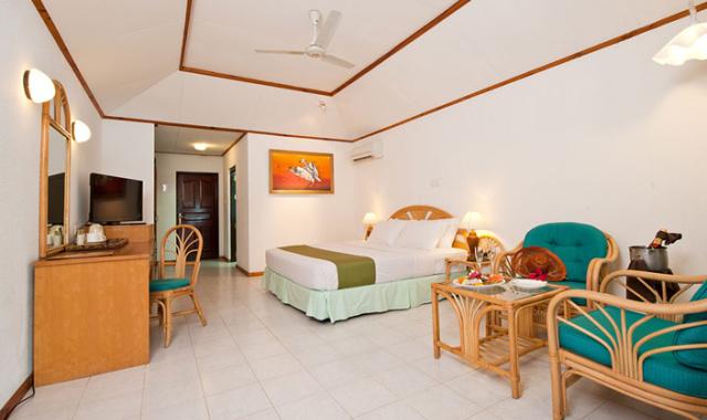 高级沙滩别墅-Superior Beach Bungalow 房型图片及房间装修风格(天堂岛 Paradise)海岛马尔代夫
