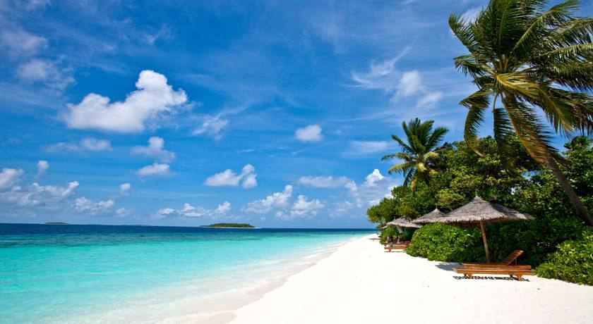 maldives 瑞提海滩 Reethi beach resort 漂亮马尔代夫图片相册集