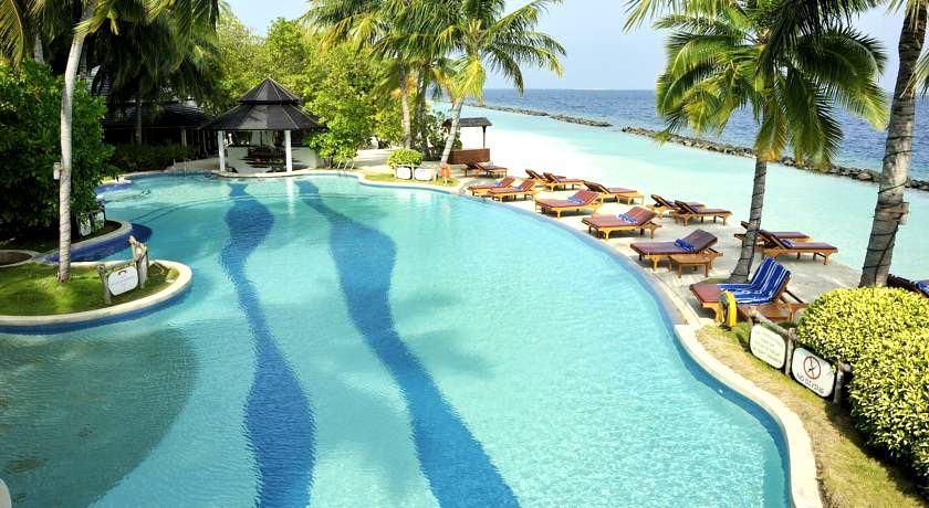 皇家岛 Royal Island Resort ,马尔代夫风景图片集:沙滩beach与海水water太美,泳池pool与水上活动watersport好玩