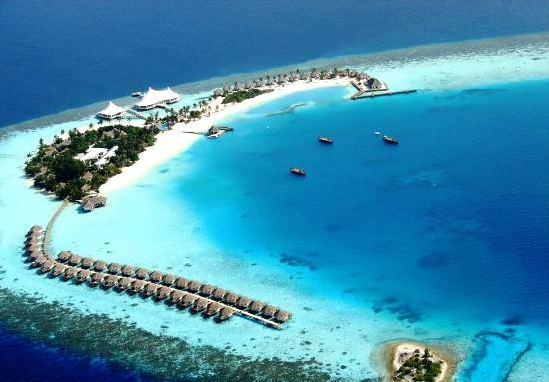 萨芙莉岛 Safari Island 鸟瞰地图birdview map清晰版 马尔代夫