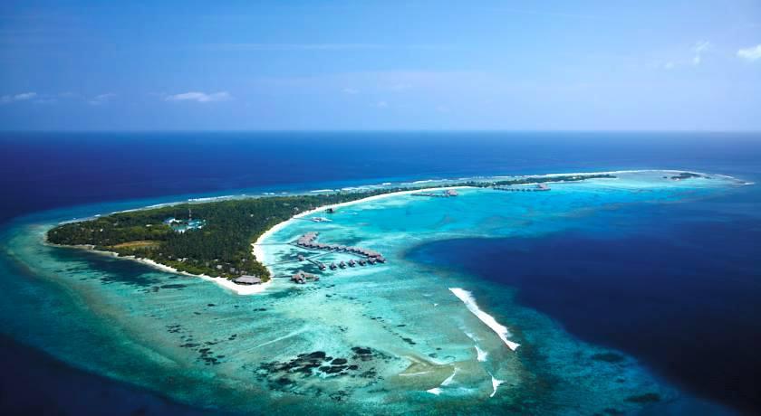 香格里拉薇宁姬莉岛 Shangri-La s Villingili Resort and Spa Maldives 鸟瞰地图birdview map清晰版 马尔代夫