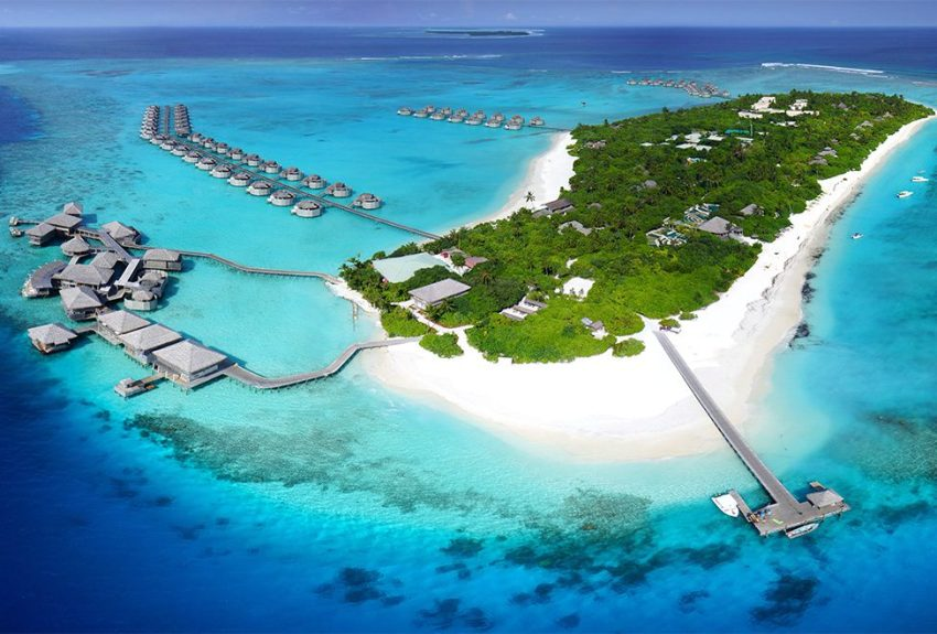 第六感拉姆 Six Senses Laamu Maldives 鸟瞰地图birdview map清晰版 马尔代夫