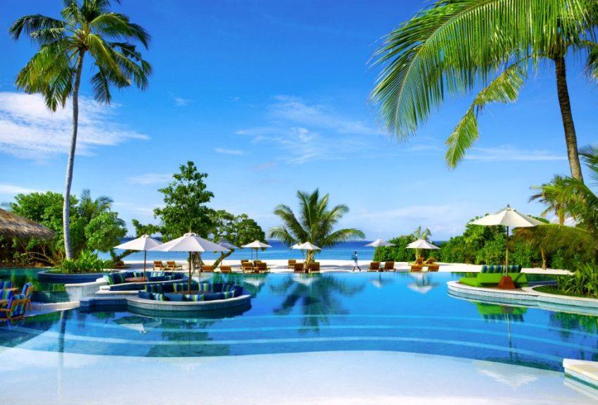 第六感拉姆 Six Senses Laamu Maldives ,马尔代夫风景图片集:沙滩beach与海水water太美,泳池pool与水上活动watersport好玩