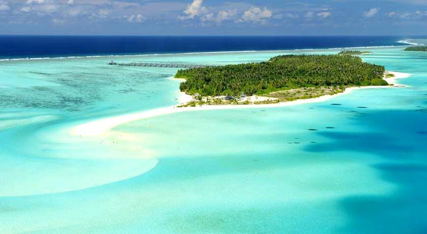马尔代夫太阳岛 Sun Island Resort 鸟瞰地图birdview map清晰版 马尔代夫