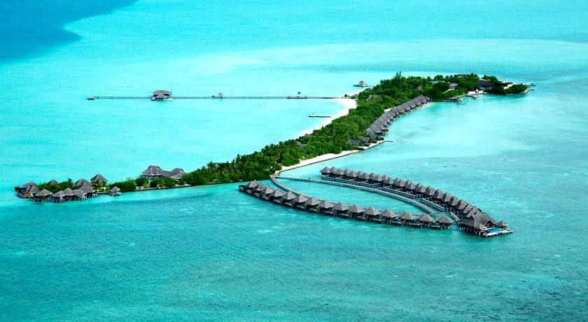 泰姬珍品岛|泰姬魅力 Taj Exotica 鸟瞰地图birdview map清晰版 马尔代夫