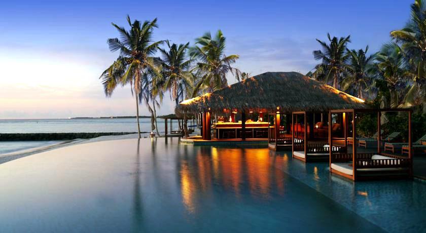 瑞喜登|瑞喜敦 The Residence ,马尔代夫风景图片集:沙滩beach与海水water太美,泳池pool与水上活动watersport好玩