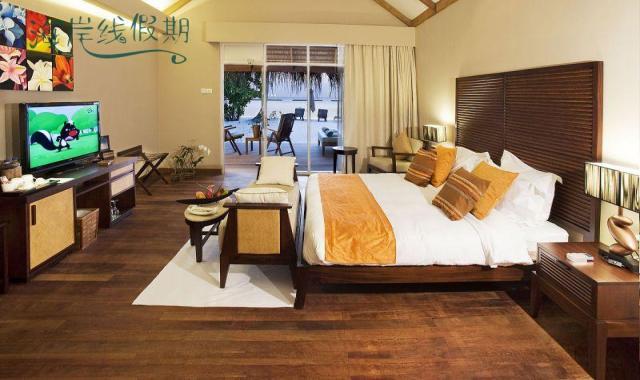 沙滩别墅-Beach Villas 房型图片及房间装修风格(蕉叶岛 Vakarufalhi Maldives)海岛马尔代夫
