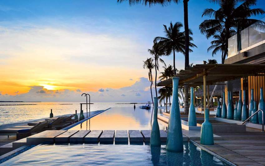 维拉私人岛 Velaa Private Island ,马尔代夫风景图片集:沙滩beach与海水water太美,泳池pool与水上活动watersport好玩