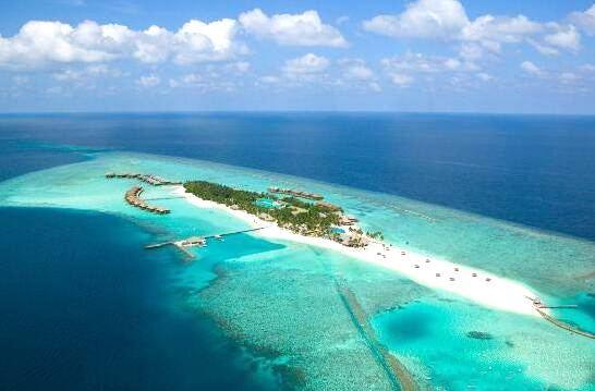 维利甘度 Veligandu 鸟瞰地图birdview map清晰版 马尔代夫