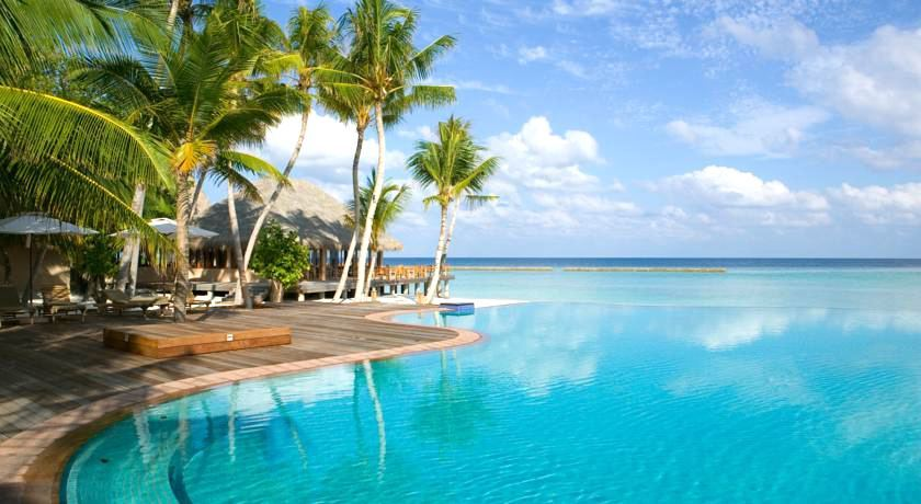 维利甘度 Veligandu ,马尔代夫风景图片集:沙滩beach与海水water太美,泳池pool与水上活动watersport好玩
