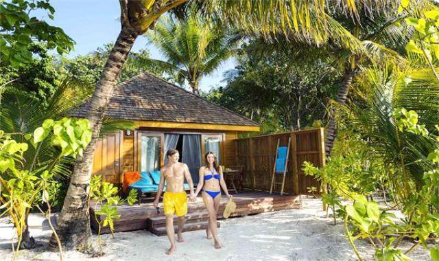 沙滩别墅-Beach Villa 房型图片及房间装修风格(维利甘度 Veligandu)海岛马尔代夫