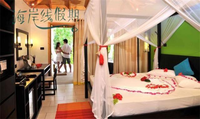 花园客房-Garden Rooms 房型图片及房间装修风格(维拉曼豪 Vilamend hoo)海岛马尔代夫
