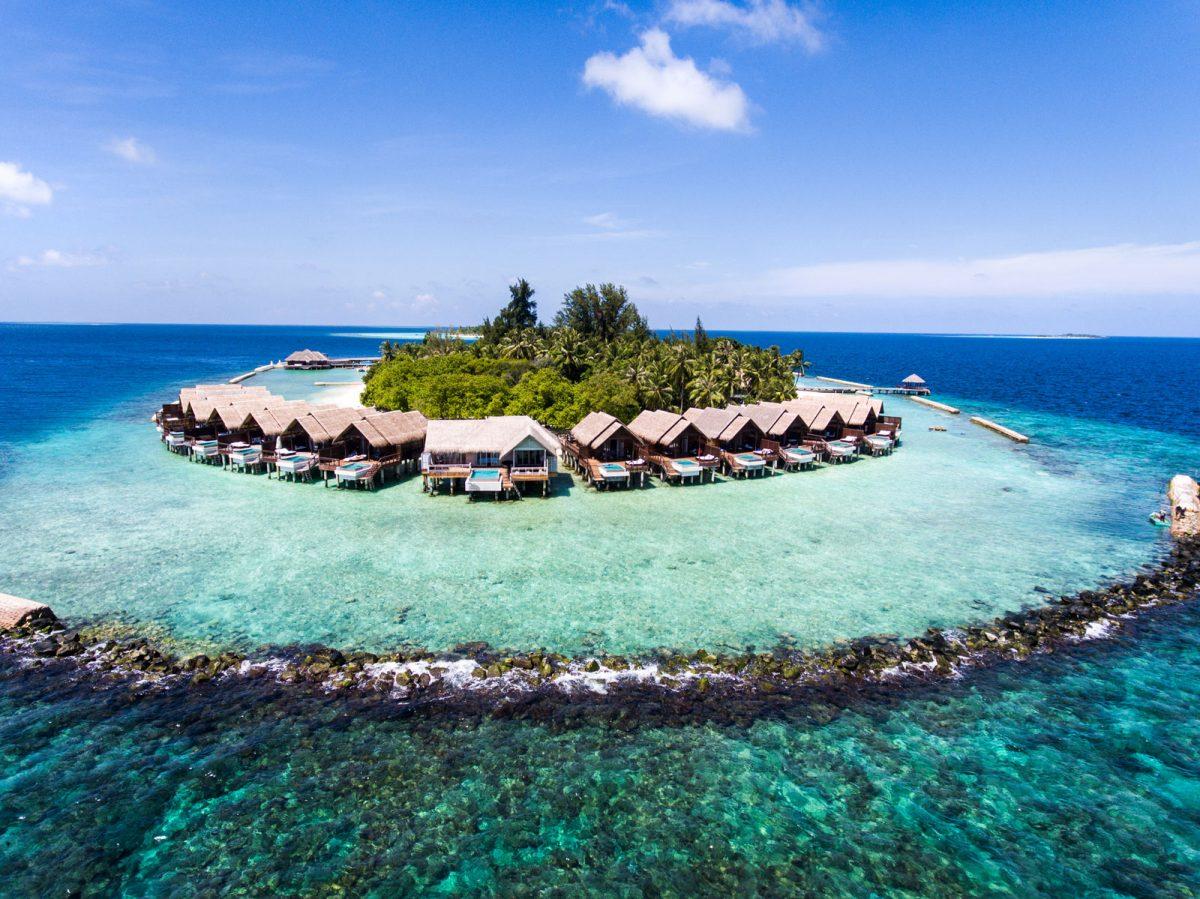 阿玛雅岛 Amaya Kuda Rah 鸟瞰地图birdview map清晰版 马尔代夫