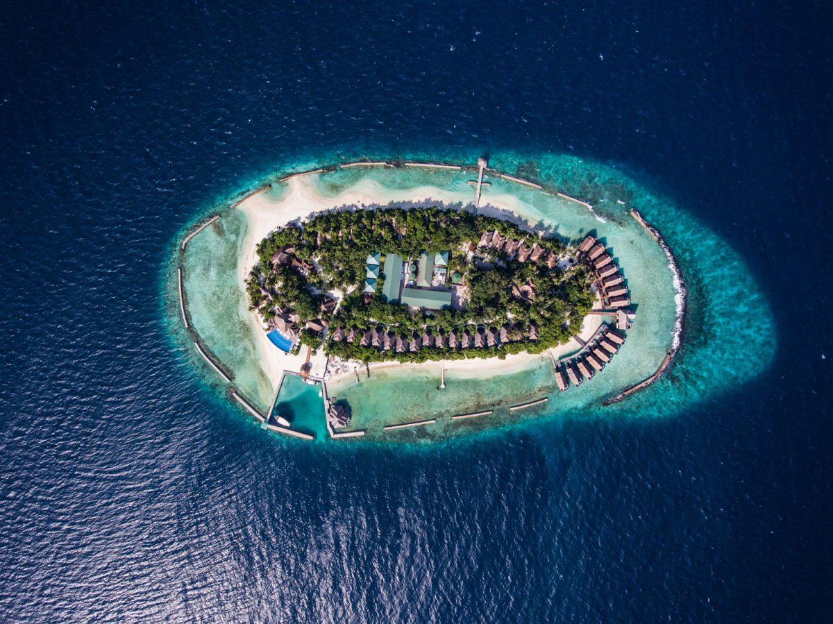 马尔代夫 阿玛雅岛 Amaya Kuda Rah 平面地图查看