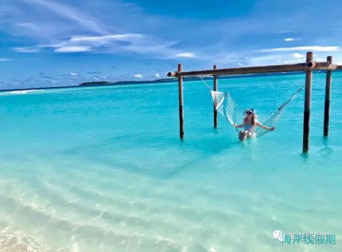 网床|马尔代夫网床大集合,马尔代夫那些岛有网床?,马尔代夫游记,海岸线假期