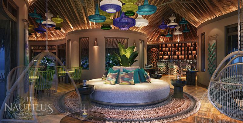 鹦鹉螺岛 The Nautilus Maldives ,马尔代夫风景图片集:沙滩beach与海水water太美,泳池pool与水上活动watersport好玩