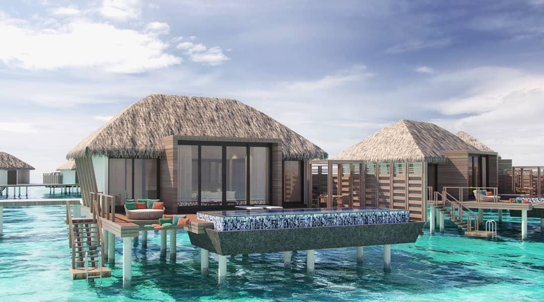 Water Villa with Pool-水上泳池别墅 房型图片及房间装修风格(丽笙度假酒店 Radisson Blu Resort Maldive)海岛马尔代夫