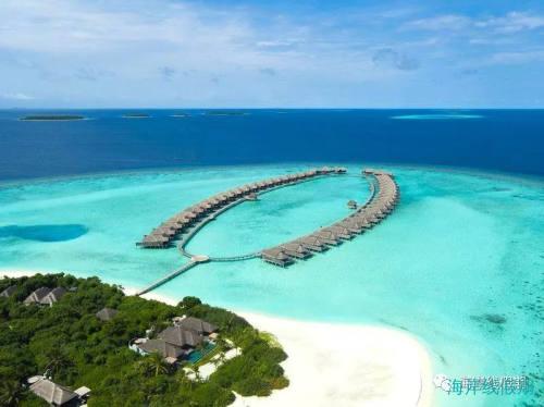 坐船才能到达的水屋,马尔代夫有几家?,马尔代夫游记,海岸线假期