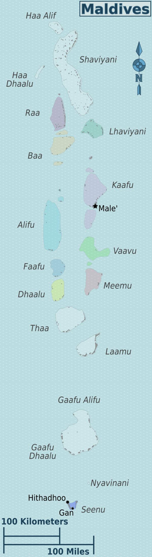 maldives攻略,  马尔代夫行政区域分布图 -百科-马尔代夫-专业代理-海岸线假期-唯一官方网站
